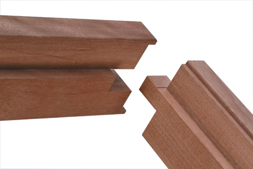 Beroemd Binnendeurkozijn hardhout 93x211,5 cm kopvorm: 56x90 mm YC87